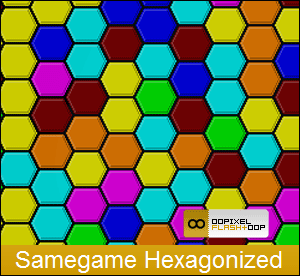Samegame Hexagonized
