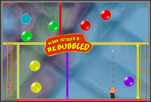 bubble trouble last level