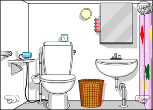 the bathroom game. Dona Room 3  Bathroom Escape Walkthrough comments and more