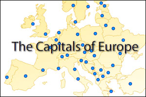 capitals of europe 300