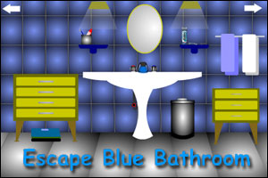 Escape Blue Bathroom