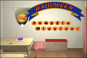 Halloween Pumpkin Mission