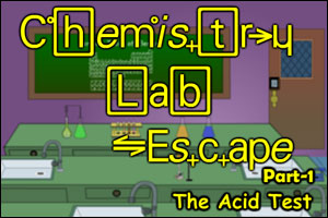 Chemistry Lab Escape part 1: The Acid Test
