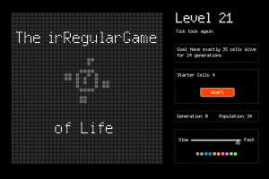 The irRegular Game of Life