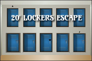 20' Lockers Escape