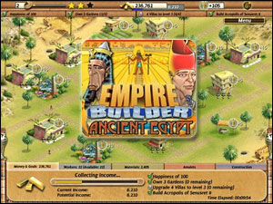Empire Builder Egypt Walkthrough