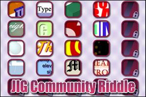 JIG Community Riddle