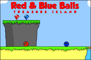 Red and Blue Balls - Treasure Island