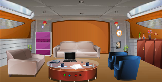 Yacht Room Escape is a Room Escape Game from 123Bee.