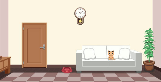 cat room game cats