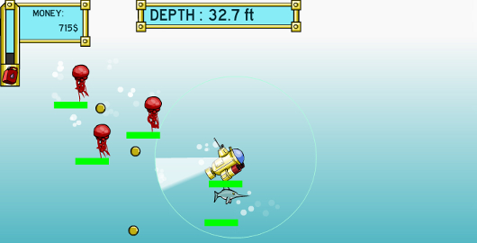 Deep sea hunter is a skill game from specimen games designed by