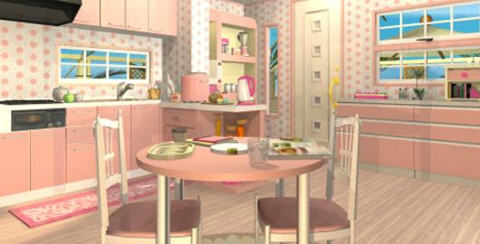 Fruit Kitchens Peach Pink