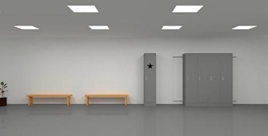 Strange Locker Room