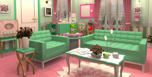 Mint Green Rooms funkyland – candy rooms 16: mint green girly - walkthrough
