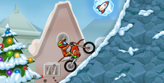 Moto X3M 4 Winter Game