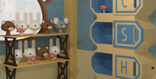 Escape from a Room with Bookshelves Game