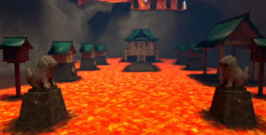 Shinto Shrine in Autumn Game