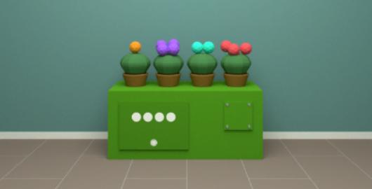 Cactus Cube Game