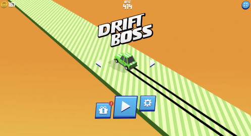 Drift Boss Game Screen