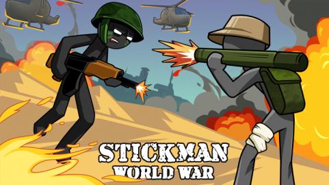 Stickman World War Cover
