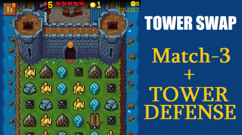 Tower Swap Game Cover