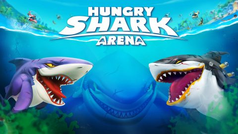 Hungry Shark Arena Game Cover
