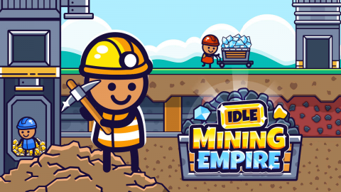 Idle Mining Empire Cover