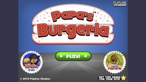 papas burgeria home screen