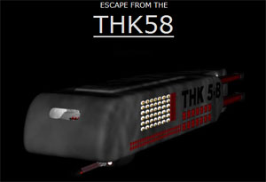 Escape from the THK 58