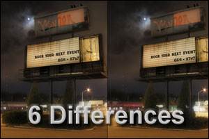 6 Differences