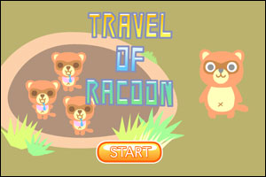 Travel of Racoon