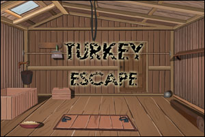 This little turkey is about to get eaten. Find a way to set him free before #ThanksgivingDay! #ThanksgivingGames #RoomEscapes