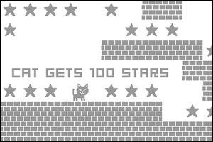 Cat Gets 100 Stars