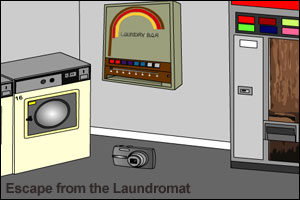 Escape from the Laundromat aka Laundry Escape 2