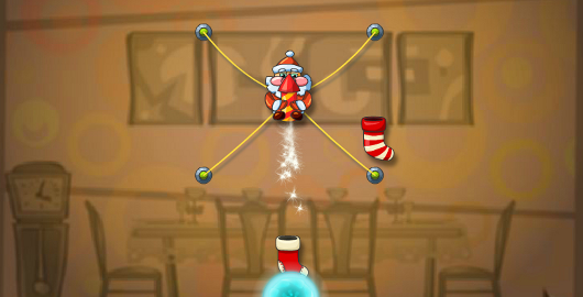 Help #Santa deliver each #Christmas gift safely before heading back to his sleigh! #SantaGames #ChristmasGames