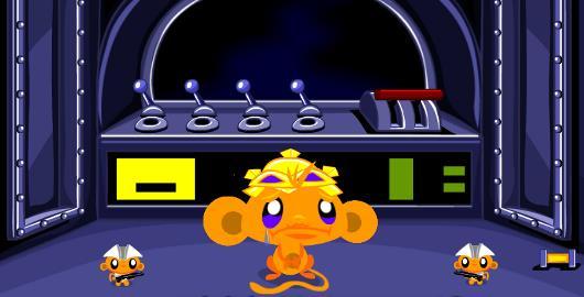 Monkey Go Happy Scifi