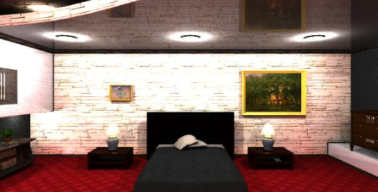 The Happy Escape Bedroom Game