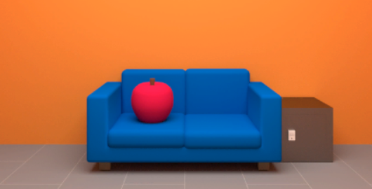 Apple Cube Game