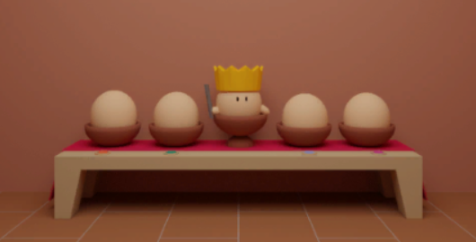 Egg Cube Game