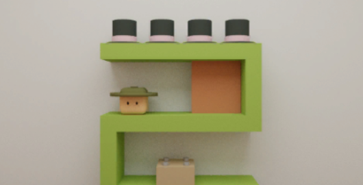 Hat Cube Game