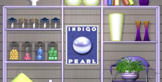 Color Room Indigo Game