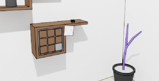 Geometric Room Escape Game